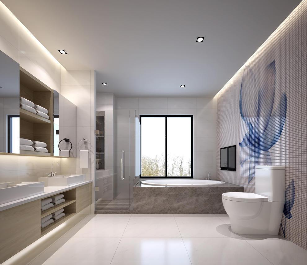 中海誉城别墅女儿房洗手间