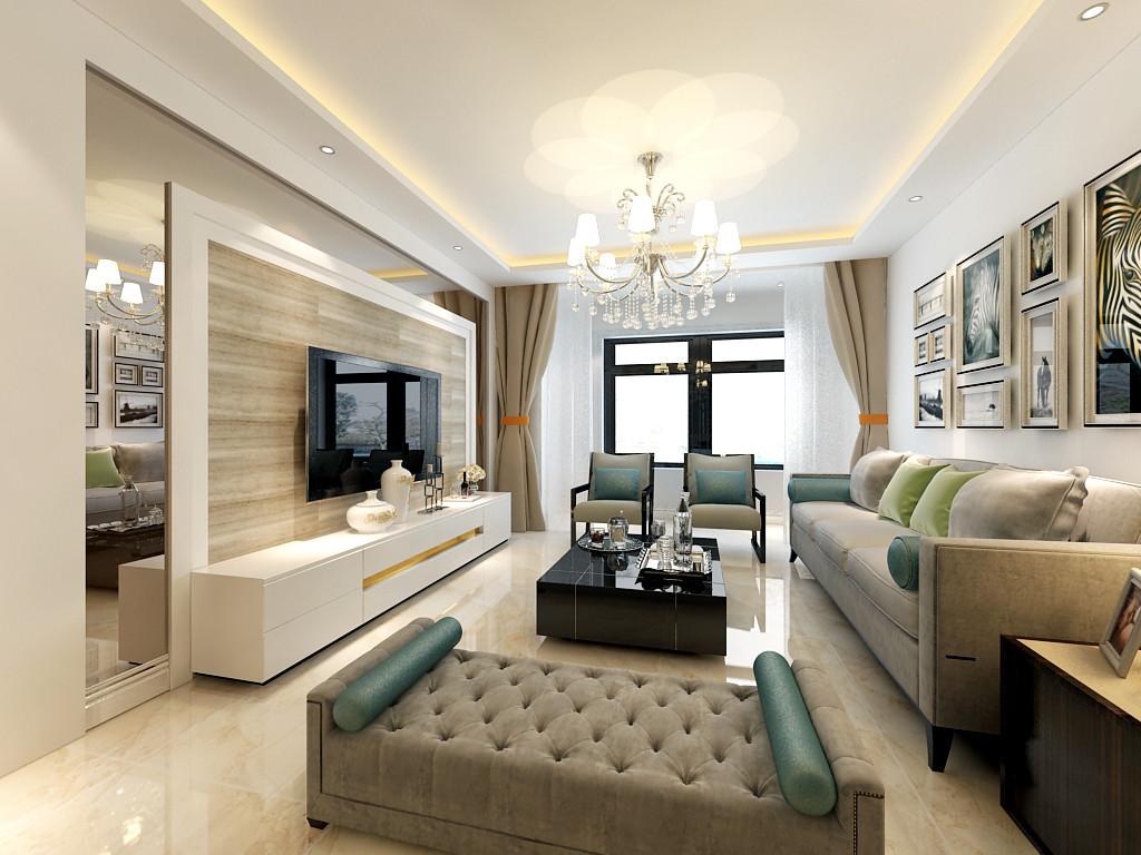 """业主需求:简洁明亮。 设计理念:现代简约风格,缘自西方60年代兴起的""""现代艺术运动"""",它是运用新材料、新技术,建造适应现代生活的室内环境,以简洁 明快为主要特点,重视室内空间的使用效能,强调室内布置按功能区分的原则进行,家具布置与空间密切配合,主张废弃多余的、繁琐的附加装饰,在色彩和造型上追随流行时尚。? 预算说明:全包(半包(水,电,木,瓦,油)工费加辅材)加主材。全包68000元。"""