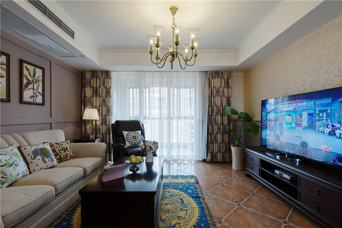 精致的客厅通过清晰,简明的线条勾勒和素净质朴的家具组合,表现出对品质的追求。
