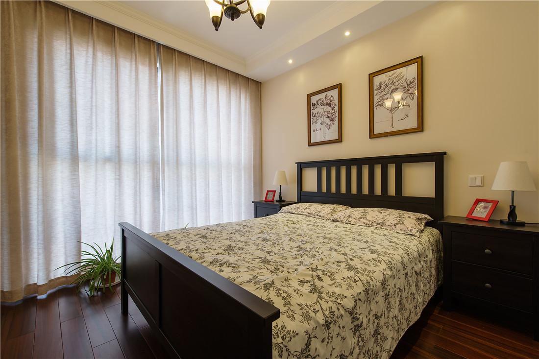 如此雅致的卧室惊艳了时光,对于温馨生活的追求,这里十分淡雅