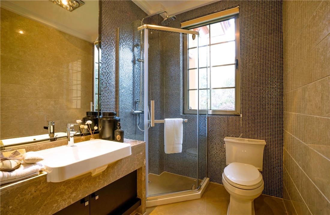 卫生间干湿分明,整洁易打理