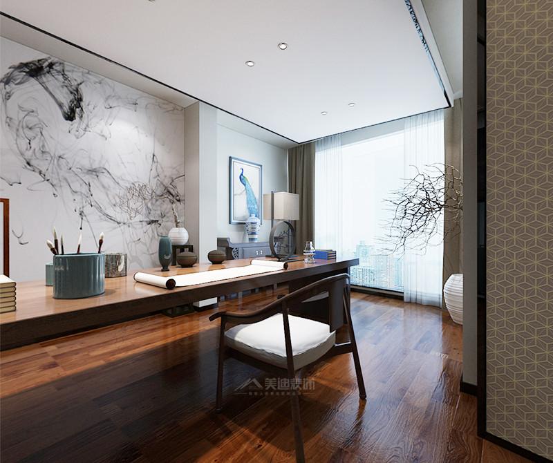 北辰三角洲 中式风格四居室 ---- 书房