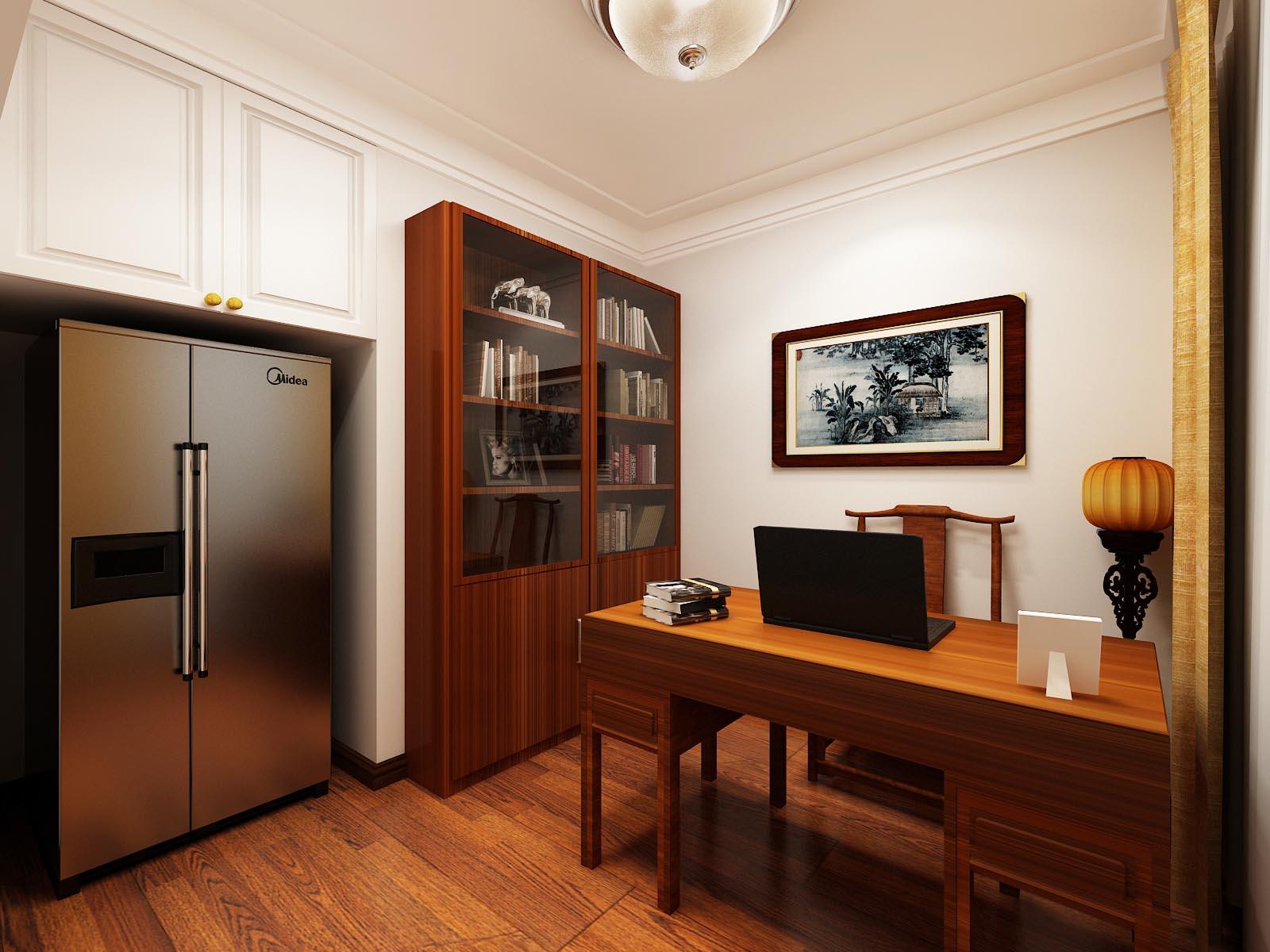 本案设计风格为新中式风格,业主喜欢并购买的南洋胡氏的实木家具,但是业主不太喜欢中式的木格木线之类的东西,设计色彩及后期配饰要求比较素净,雅致。