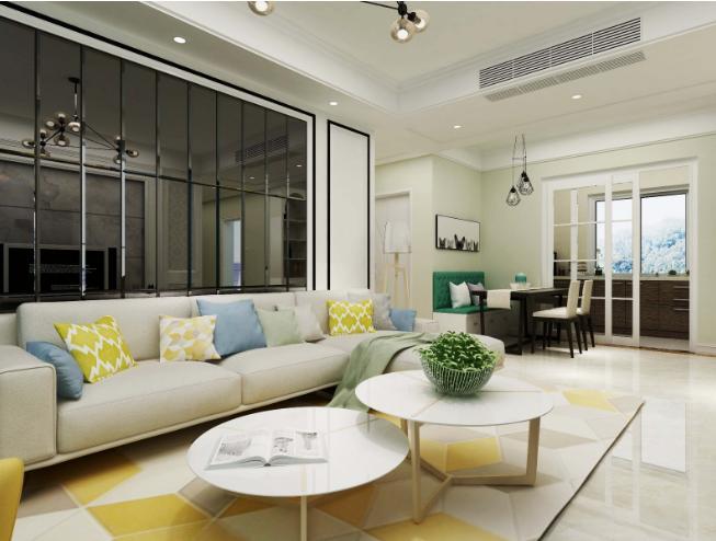 现代简约-123平米三居室