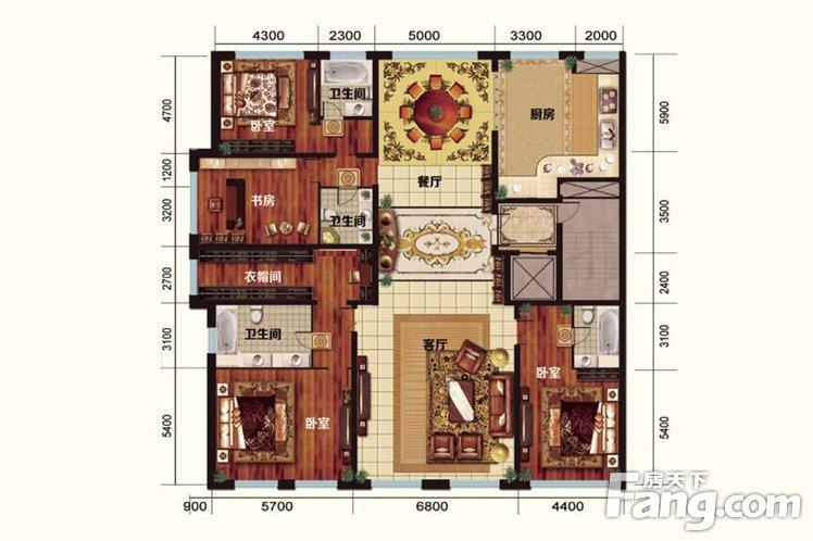 别墅壹旅馆龙首号院小的图片