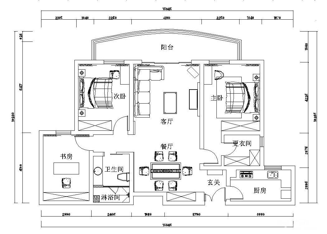 欧美现代风格具有简单、抽象、明快的特点。而且多采用现代感很强的组合家具,颜色选用白色或流行色,室内色彩不多,一般不超过三种颜色,且色彩以块状为主。窗帘、地毯和床罩的选择比较素雅,纹样多采用二方连续或四方连续且简单抽象,拒绝巴洛克式的繁复。其他的室内饰品要求造型简洁,色彩统一。灯光以暖色调为主。