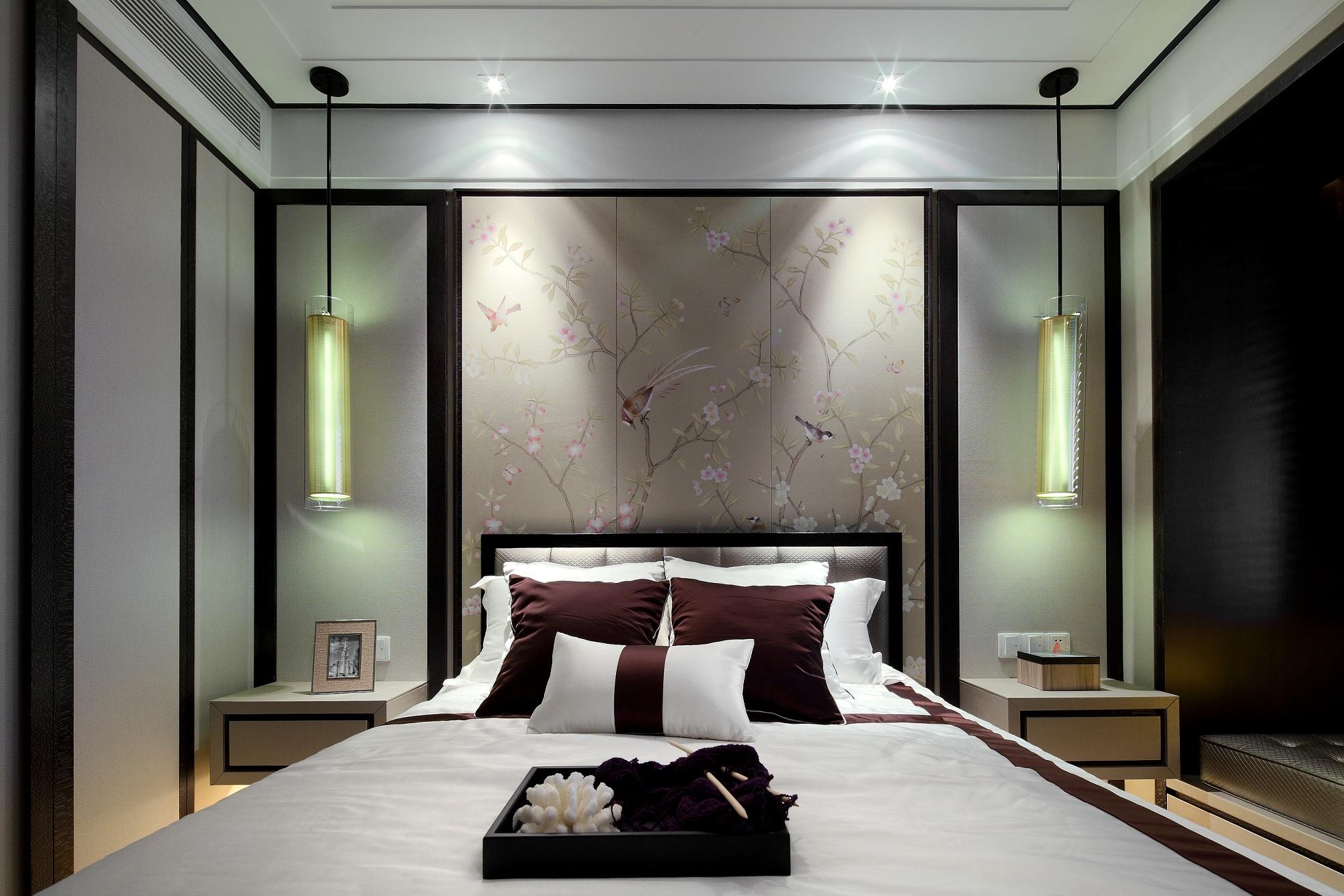 中式风格-115平米三居室