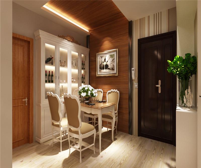 现代简约二居室餐厅吧台装修效果图欣赏