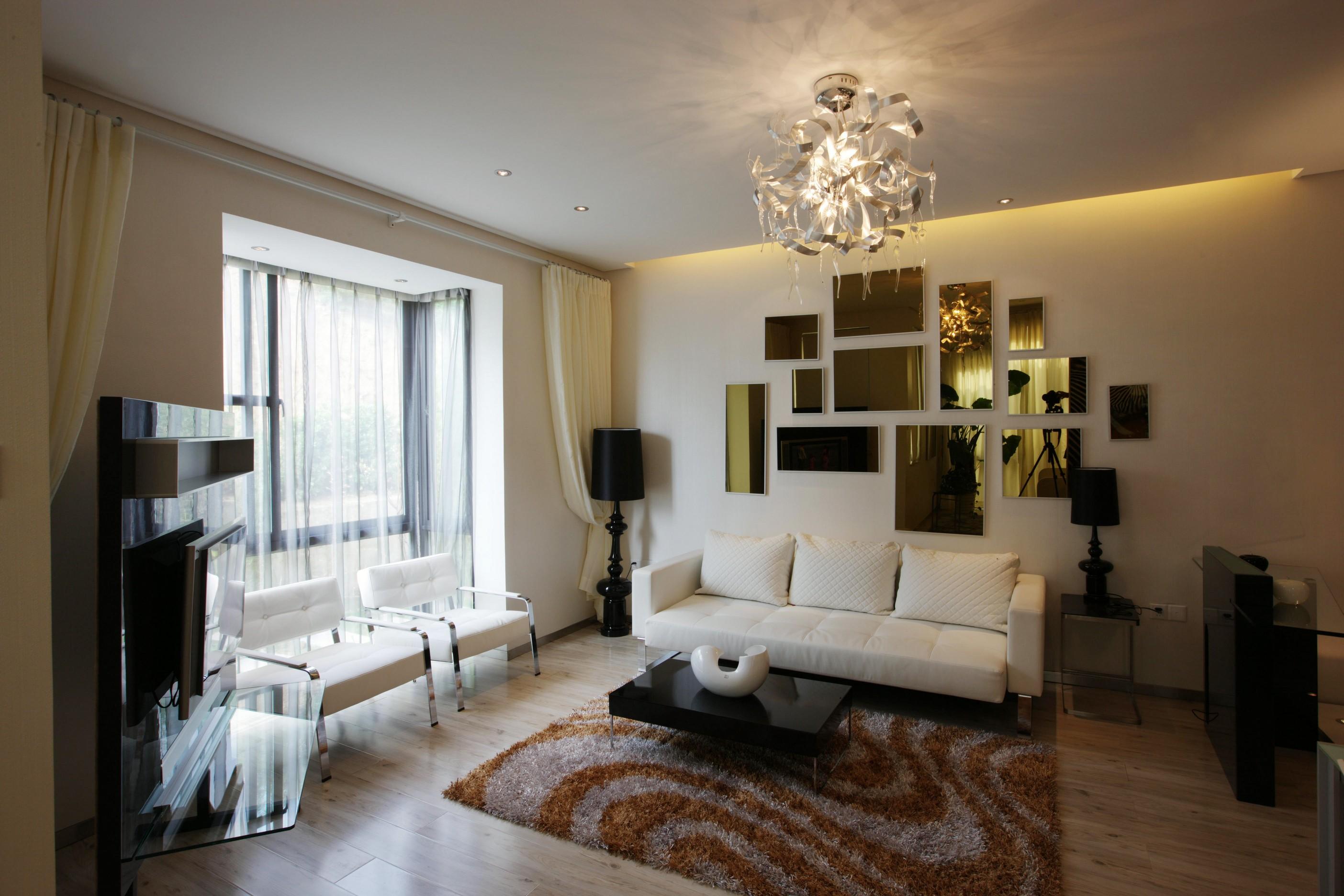 满足业主的需求,采用简约的风格,个性化的设置,让空间有格调的同时居家舒服