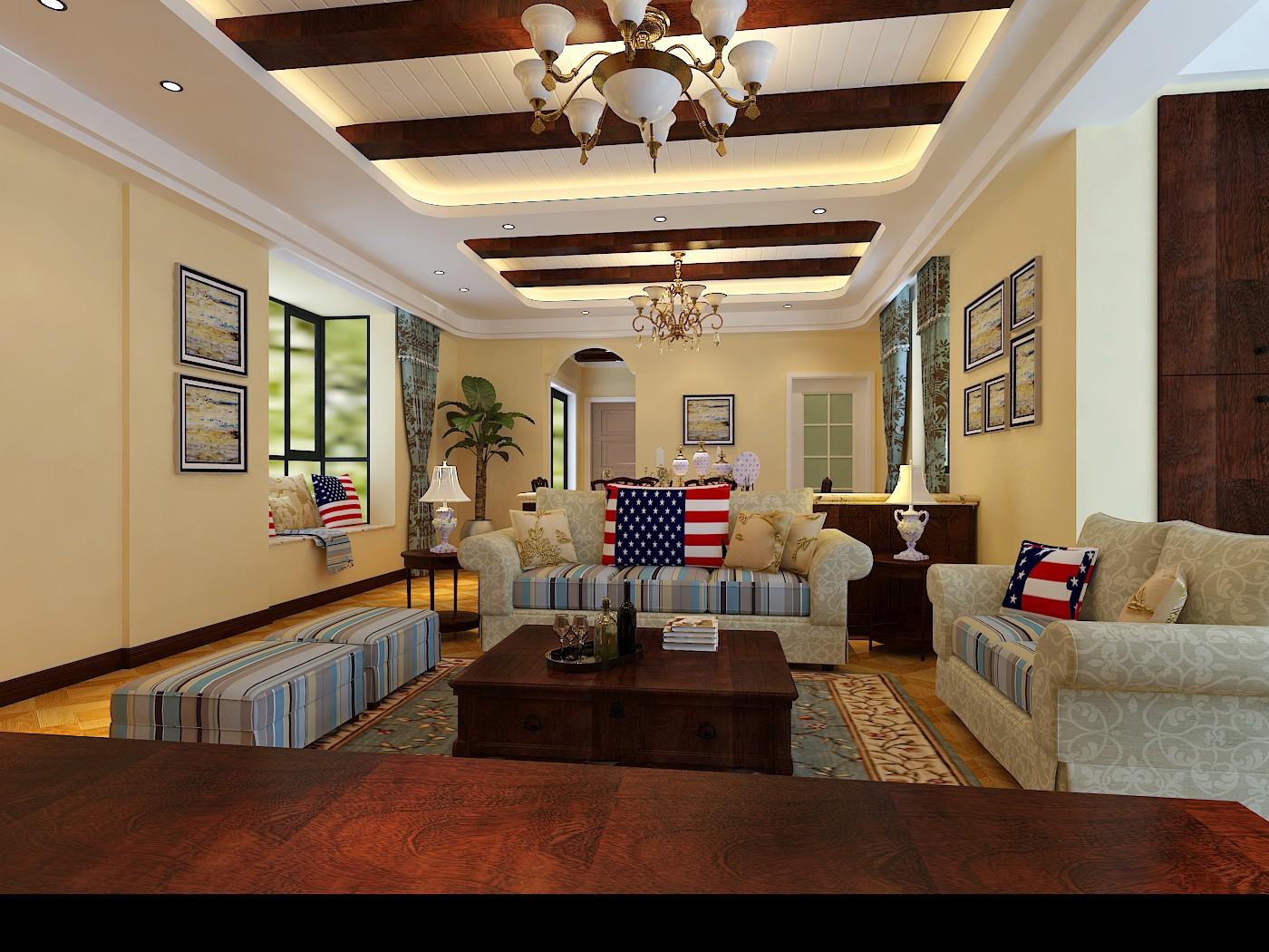 美式风格,顾名思义是来自于美国的装修和装饰风格。是殖民地风格中最著名的代表风格,某种意义上已经成了殖民地风格的代名词。?