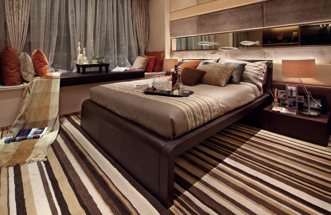 满足业主需求,空间布置个性化,充分利用空间,空间既宽敞也显得舒适整洁