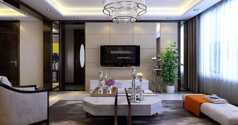 简约风格的特色是将设计元素、色彩、照明、原材料简化到最少的程度,但对色彩、材料的质感要求很高。因此,简约的空间设计通常非常含蓄,往往能达到以少胜多、以简胜繁的效果 入门要做到进门映入眼帘的中枢作用能达到随人动而变,让人心情舒畅。 客厅是整个家居布置中的重点,设计师在做这一设计时充分考虑到室内与室外空间的交流,因势利导地的设想,如开阔敞亮的大厅要采用对比色处理,明、暗、黑、白之间的处理。 房间要以简为主、动静分明、舒适温心、有进门的睡意感。为了迎合出业主的个性与品位,设计师将设计风格方面界定为简洁大方的现代新简约主义风格,在材质方面、原户型的大局合理性,我们尊重原有的空间结构的,尽量保持原有的美,所以在设计手法只是灵巧地运用不同材质、造型把整个空间有机地融为一体