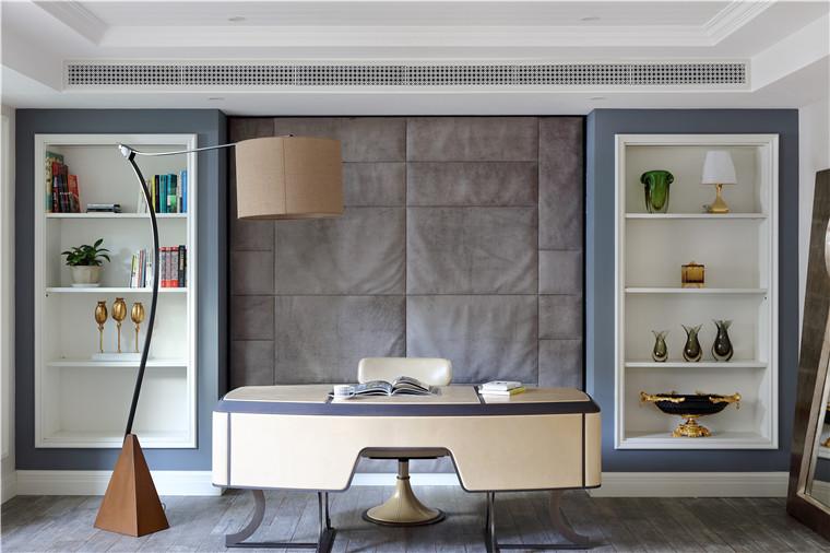 现代简约五居室书房灯具装修效果图欣赏