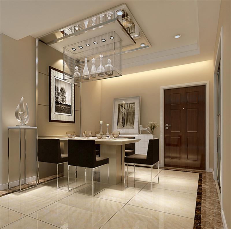 本案:通过家具、吊顶、地面材料、陈列品甚至光线的变化来表达不同功能空间的划分,而且这种划分又随着不同的时间段表现出灵活性、兼容性和流动性,如休憩空间和餐饮空间通过一个钢结构的夹层来分割,阁楼上的垂幔吊顶又限定了床的范围,这是典型的现代空间设计手法。