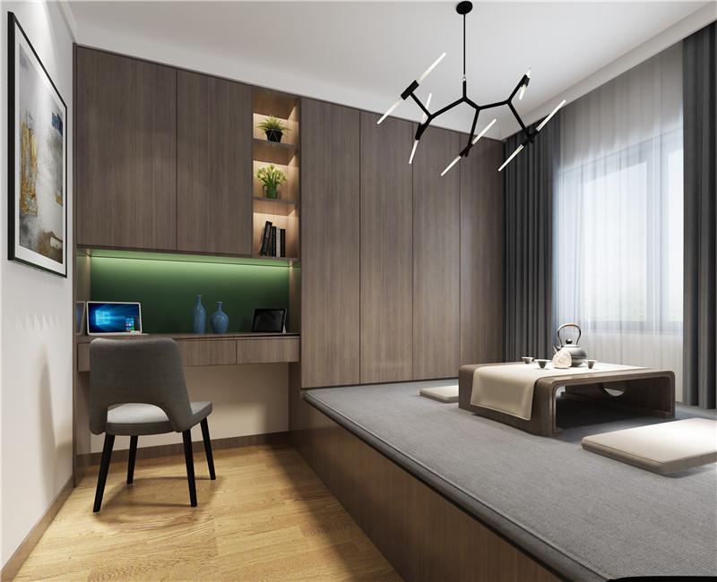 根据业主的需求给这个房子赋予更多的功能,看书、喝茶、休闲娱乐都可以在此空间进行。