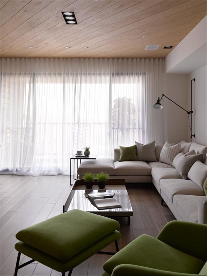 布艺沙发,营造温馨气氛