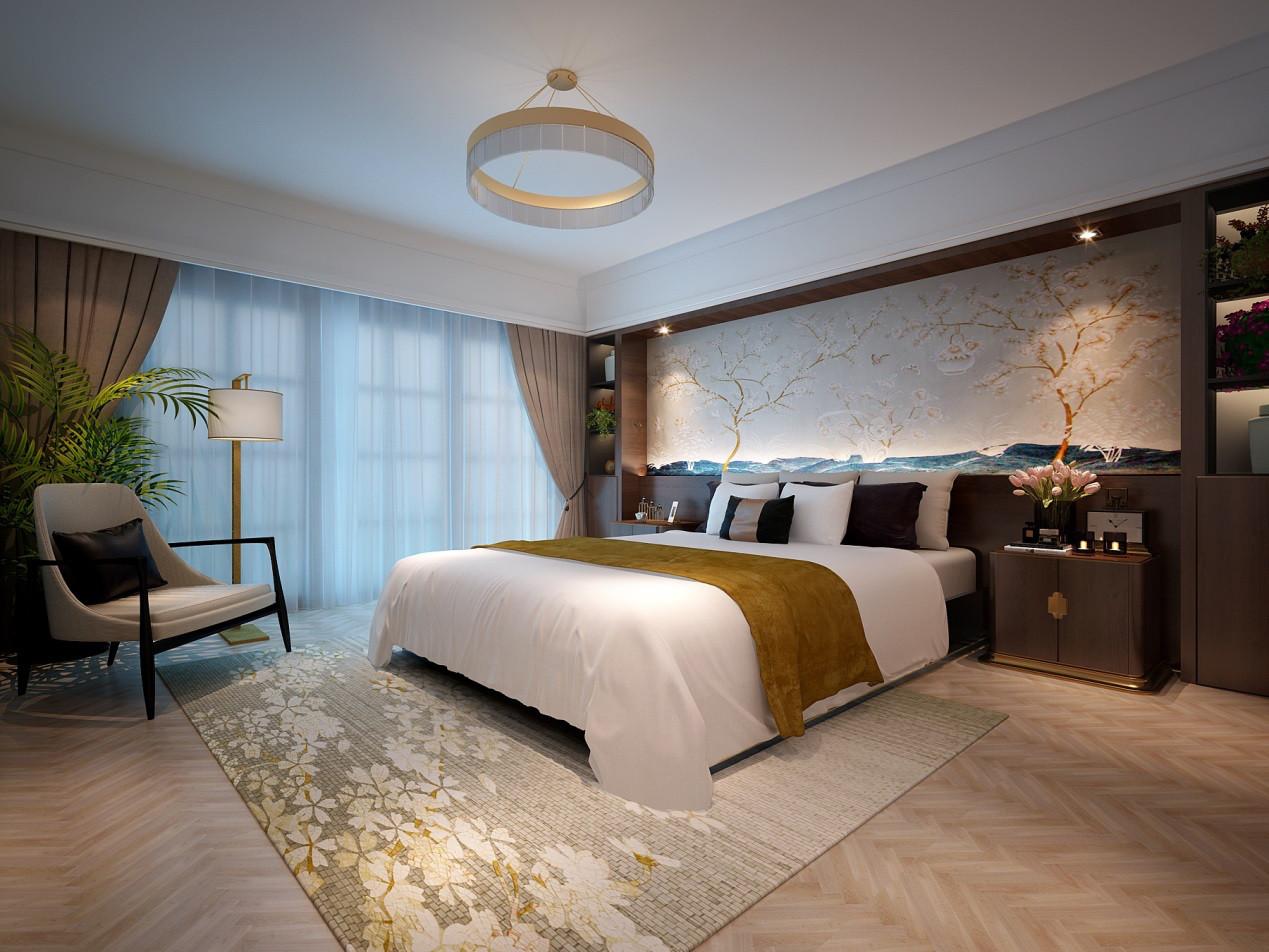 老人房:在卧室的设计上,设计师要追求的是功能与形式的完美统一、优雅独特、简洁明快的设计风格。在卧室设计的审美上,设计师要追求时尚而不浮躁,庄重典雅而不乏轻松浪漫的感觉。