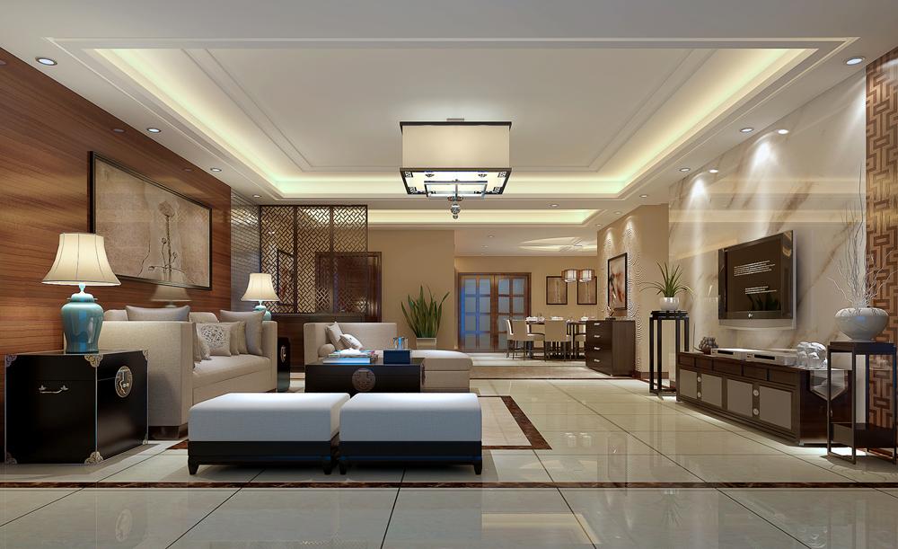 新中式一改传统中式风格古色古香、雕梁画栋给人的刻板印象,取而代之的是亲近自然、朴实、简单却内涵丰富。简洁硬朗的直线条和具有西方工业设计色彩的板式家具,搭配中式风格使用,更迎合了中式家居追求内敛质朴的设计风格,使新中式更加实用。整体造型设计简洁而大气,除了整体的设计主调把握好了之后,在细节的设计上更应体现人性化和生活品质。?