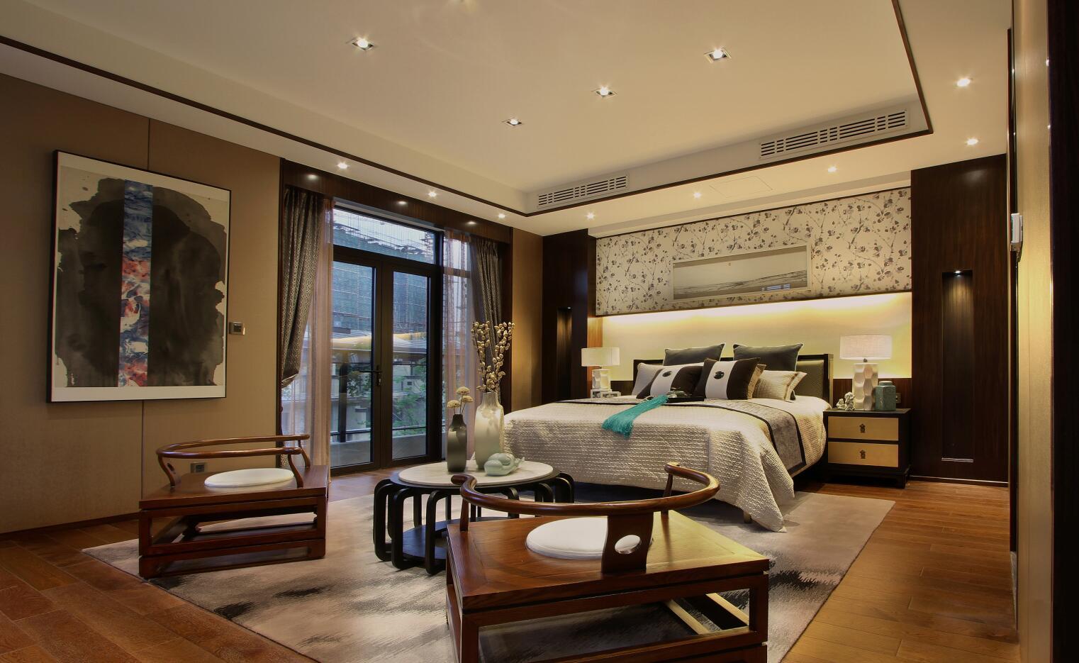 其它四居室卧室床头柜装修效果图大全