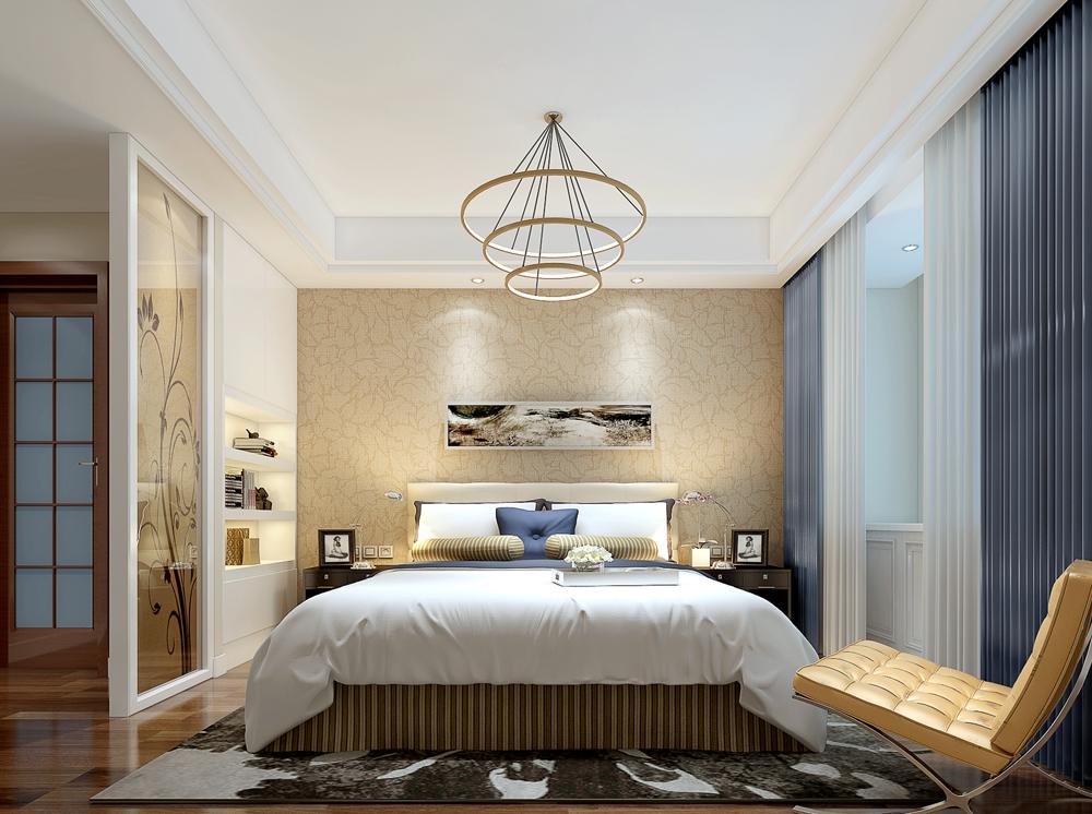 本案的设计风格为现代简约,主要营造出现代时尚又具内涵的室内效果。这套房子,改动也很大,卫生间干区及主卧室的储藏间及次卧室墙体打掉,曾加了很多功能,让所以的变的仅仅有条。在色彩方面,大面积采用了高级灰的色系,让整个居室充满了高贵大气又有女人的味道,卧室主要是简约处理,大方得体时尚,钢化玻璃门,壁纸等等,无不体现了时尚。