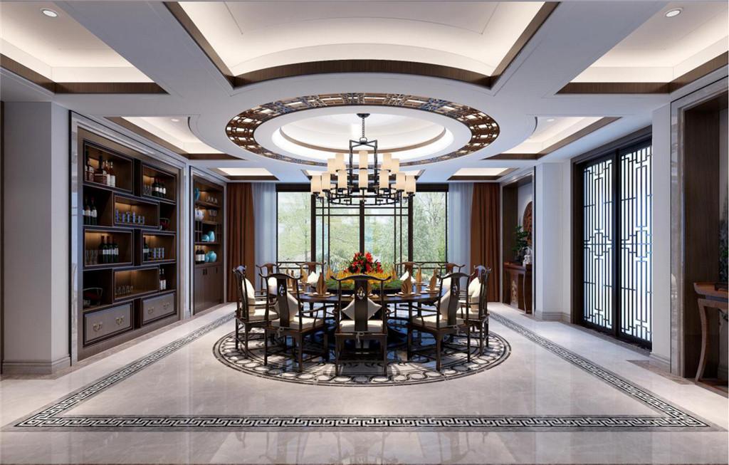 客餐厅: 客厅跟餐厅一体化,这样不仅能节省空间,而且还巧妙地把两个空间的功能结合起来,使空间更具整体化,方便又相得益彰。