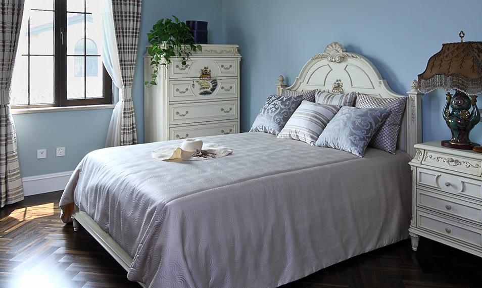 新古典风格别墅卧室壁纸装修效果图大全