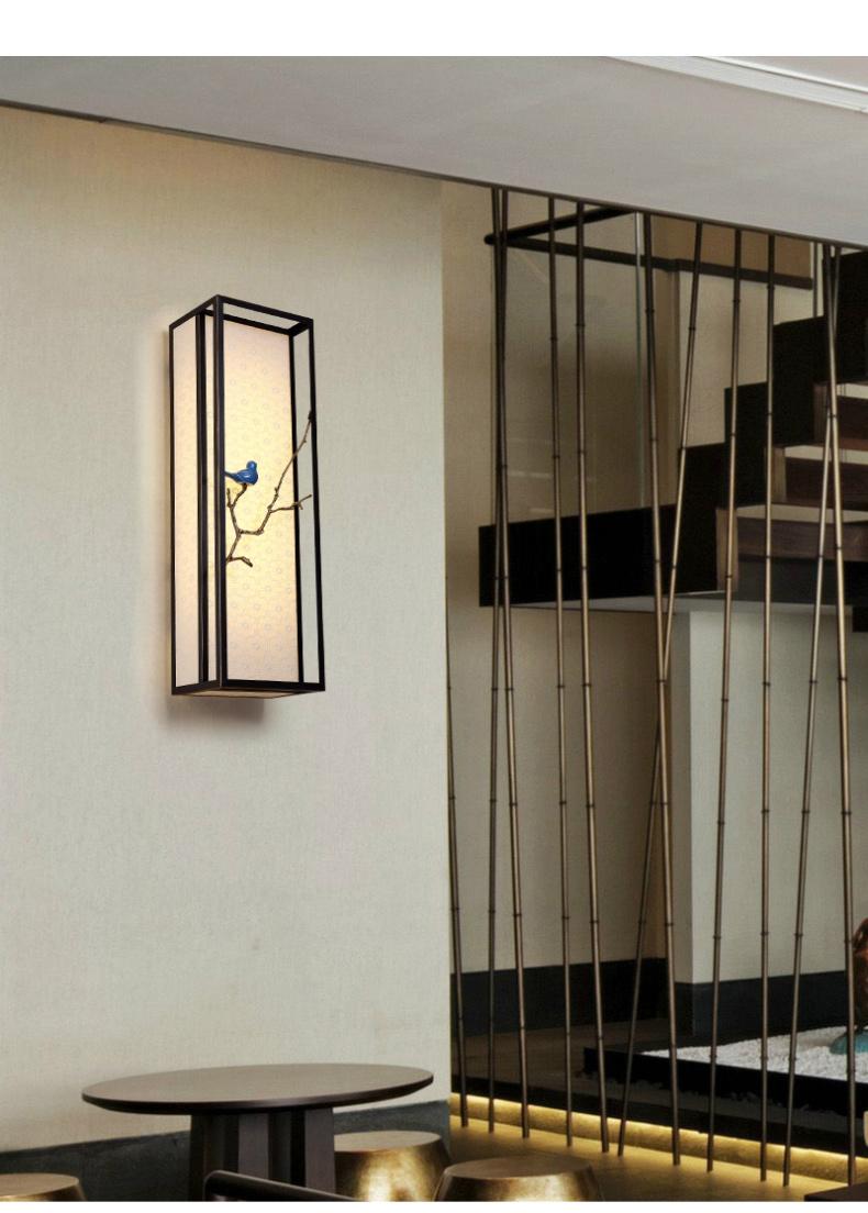 新中式壁灯图片大全