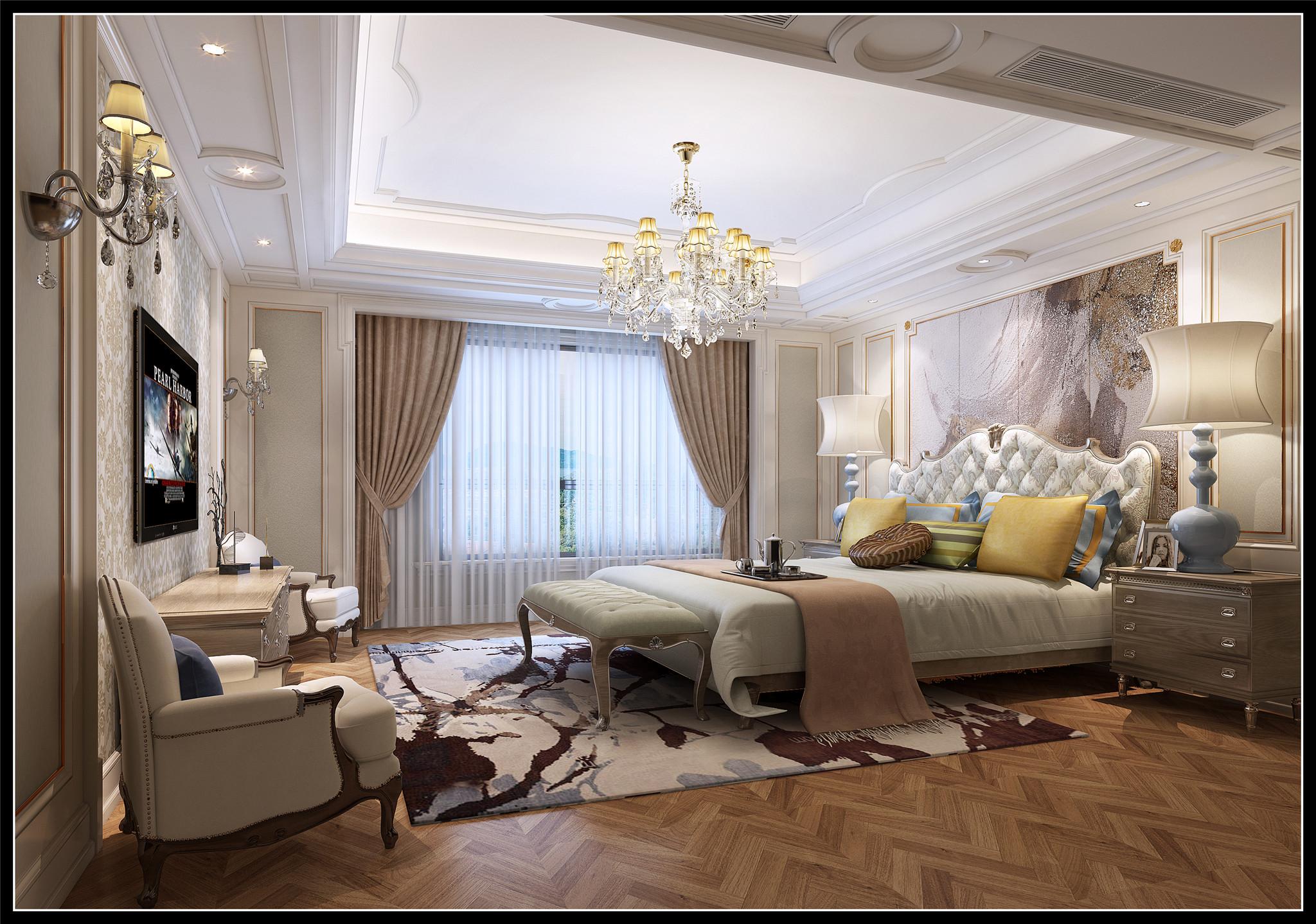 古典欧式风格兼备豪华、优雅、和谐、舒适、浪漫的特点,受到了越来越多业主的喜爱。