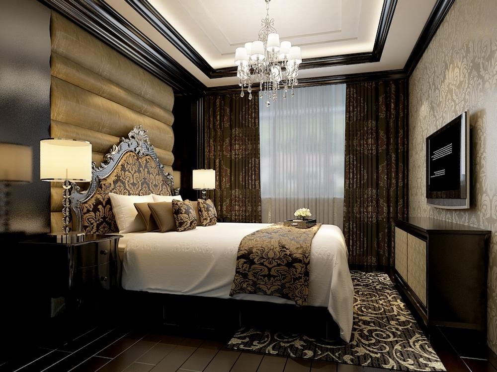 主卧房的设计 ,使用软包和实木线的材质造型, 目的彰显奢华大气,而另一处卧房则显示出简约的特点,辅以床头墙造型以及床品的选择,都很好的表现出了空间的格调,符合一个18岁男生,生活学习的需求,女儿房在材质的色彩则以白色为主,给人以温馨的视觉效果,粉色绿色元素的加入则给空间带来活泼,动感。