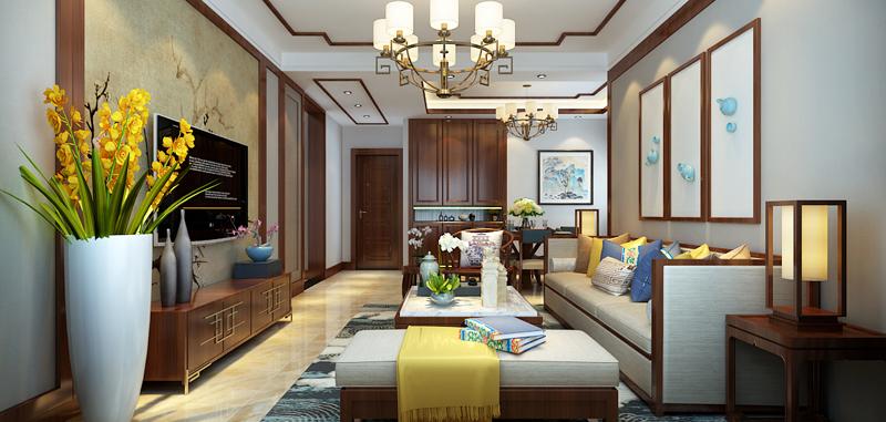在中国文化风靡全球的现今时代,中式元素与现代材质的巧妙兼柔,唐宋家具、明清窗棂、布艺床品相互辉映,再现了移步变景的精妙小品。继承明清时期家居理念的精华,将其中的经典元素提炼并加以丰富,同时改变原有空间布局中等级、尊卑等封建思想,给传统家居文化注入了新的气息。