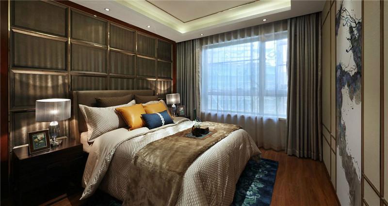 卧室整个配色十分协调,温馨。