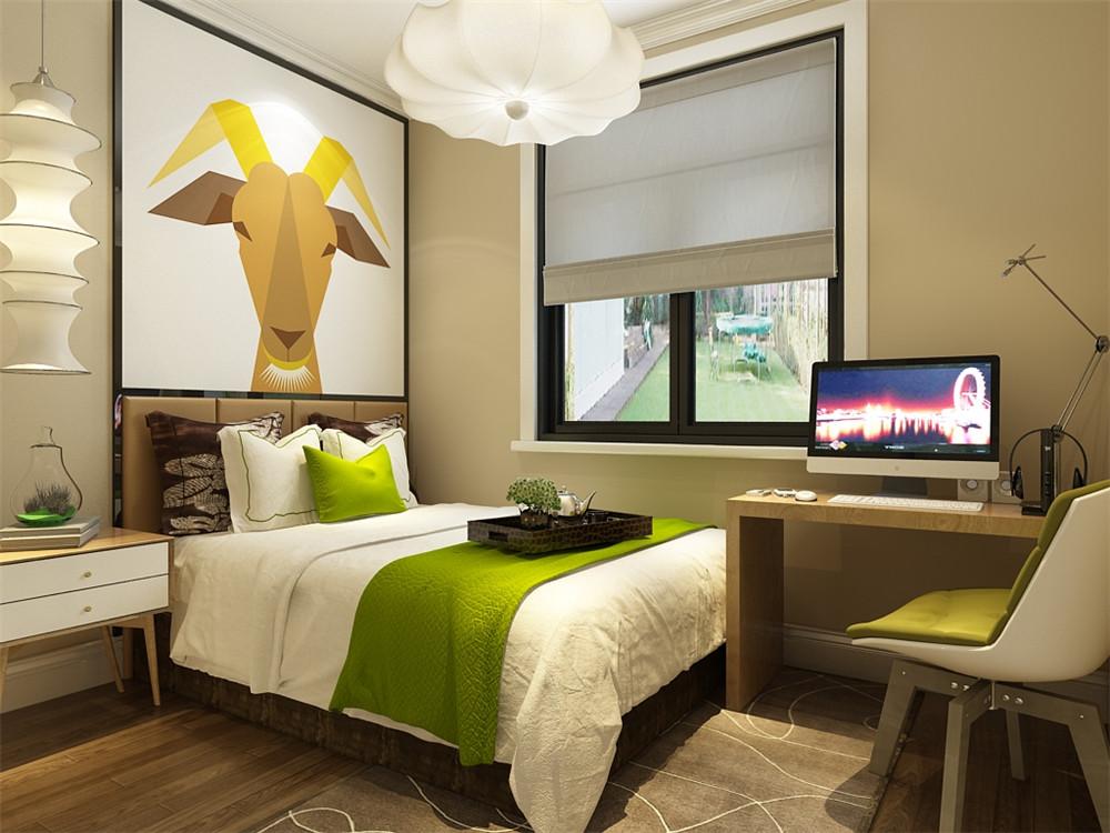 客餐厅墙面主要以温暖的浅咖色乳胶漆为主,电视背景墙以花线圈边,沙发图片