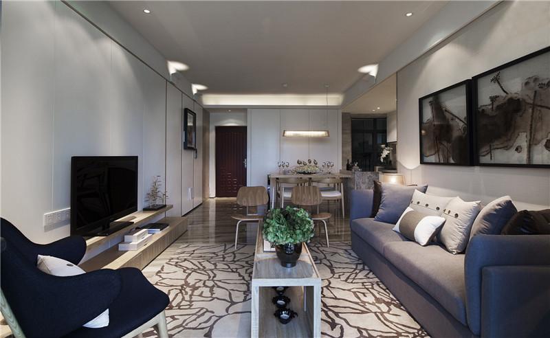 客厅空间效果图