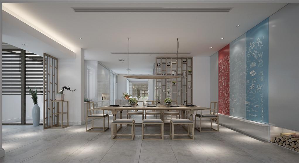 禅意室内设计自然禅意的营造是一个亮点,通常,在禅意室内设计中,禅意的营造可以从色彩、装饰物等多角度着手,比如,在书房的设计中,可以选用白色的情面与深棕色的家具和书柜形成明显的对比,方正的家具与天花板垂下的吊灯巧妙呼应,会选择绿意的植物比如折别鹤,兰草等装饰室内空间,会设计一个简单的休闲区,矮矮的茶几,要三两好友,席地而坐,品茶喝酒,分享人生的见得。