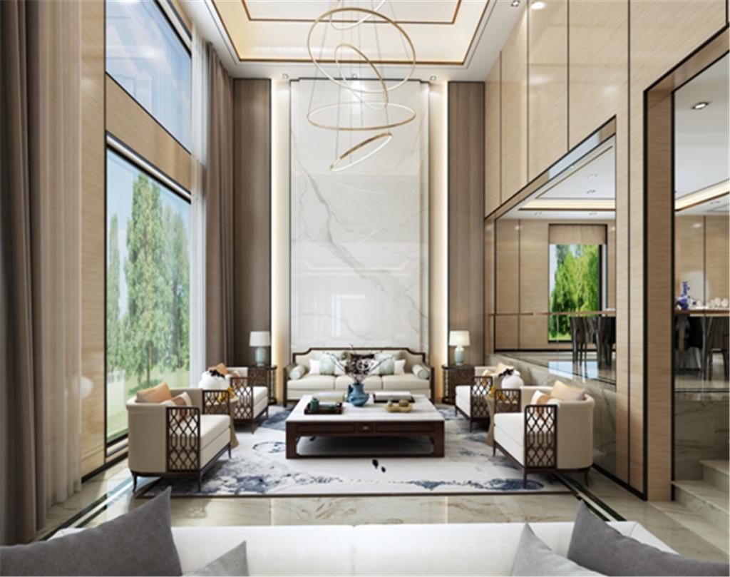 设计完美的挑空式客厅将会是整个房子中一道最为炫丽迷人的风景线。选择靠窗位置采光最好的地方,这样光线就可以很充分进入屋内,让人的整个视觉效果也因此得到改善,而且也不会浪费大面窗的这个好条件。开阔的挑空视