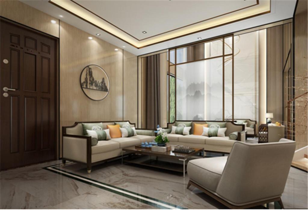 家庭厅,是一家人情感的核心区,此案侧重家庭的交流,配上米黄色的墙面装饰,温馨舒适,是家庭厅独有的本色。