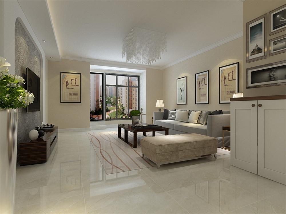 客厅家具的采用通常以朴素的线条来体现造型的家具居多,习惯使用低对比度的颜色,色系统一