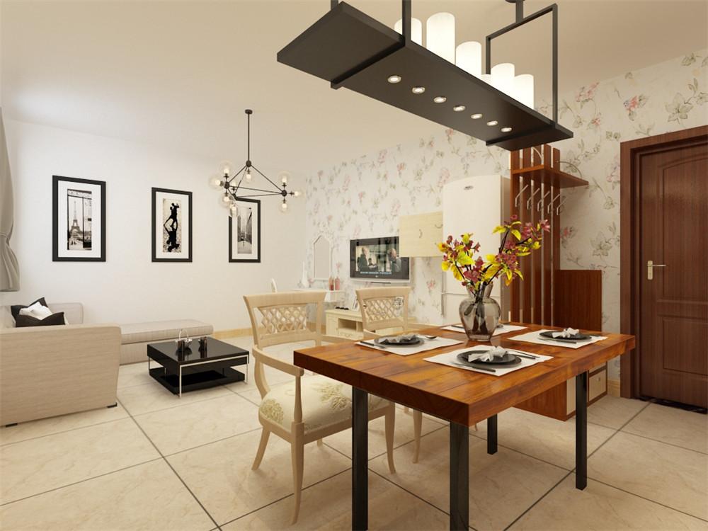 餐桌使得整个空间即稳重又清新,主会感觉整个客餐厅的一体连贯性,更是增添些许高大上的气息