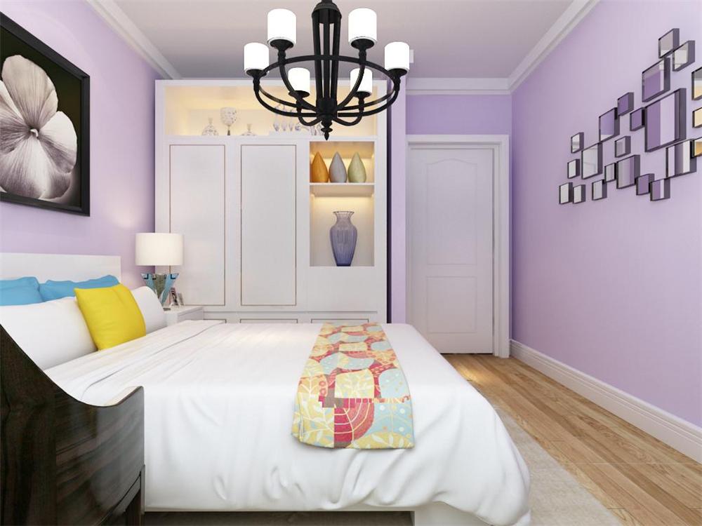 卧室的设计温馨舒适,适合想从繁忙工作中解脱出来,不愿花许多心思打理房间、享受简单生活的人