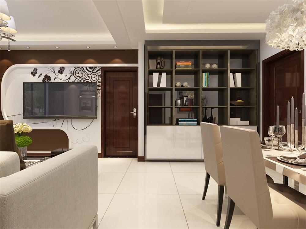 餐厅没有做过多的造型,简单的桌椅,干净的配色使得餐厅和客厅相呼应又不重复,餐桌用了四人桌