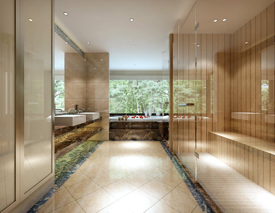 """本案以""""木色为基调"""",美学上推崇""""唯美的色彩"""",在居室的空间的处理上,力求表现自然轻松的情趣,设计上讲求色彩关系,注重大小色块间的组合,地域性的后期配饰融入设计风格之中。在室内,窗帘、桌巾、沙发套、灯罩等均以低彩度色调和棉织品为主。鲜花和绿色的植物也是很好的点缀。"""