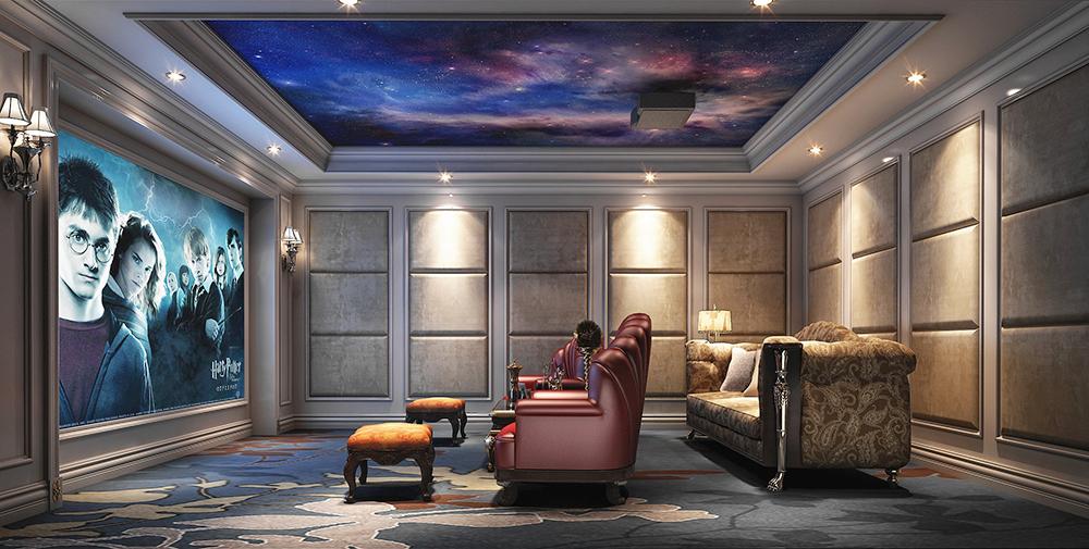 本案例为欧式风格。欧洲的浪漫情怀,一直为东方人们所向往。欧式的居室有的不只是豪华大气,更多的是意境和浪漫。通过完美的曲线,精益求精的细节处理,带给家人不尽的舒适触感,实际上和谐是欧式风格的最高境界。同时,适用于本套大面积房子,若空间太小,不但无法展现其风格势气,反而对生活在其间的人造成一种压迫感。当然,还要具有一定的美学素养,才能善用欧式风格,否则只会弄巧成拙。