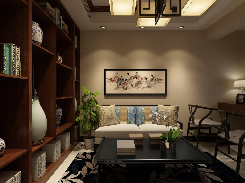 房子结构比较规整,房型结构为南北通透户型,根据空间更大利用做局部调整。本案定为新中式风格。通过对传统文化的认识,将现代元素和传统元素结合在一起,以现代人的审美需求打造了富有传统韵味的事物,让传统艺术在当今社会得到合适大的体现。家具颜色主要以深色为主,有深厚沉稳的底蕴。装饰造型主要采用硬朗简洁的直线条,使空间具有层次感,对门厅进行了改造,使其更加规整。对空间进行了再次划分,使其更加符合业主的需求。