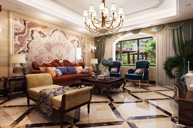 简约欧式风格沿袭古典欧式风格的主元素,融入了现代的生活元素。欧式的居室有的不只是豪华大气,更多的是惬意和浪漫。通过完美的典线,精益求精的细节处理,带给家人不尽的舒服触感,实际上和谐是欧式风格的境界。