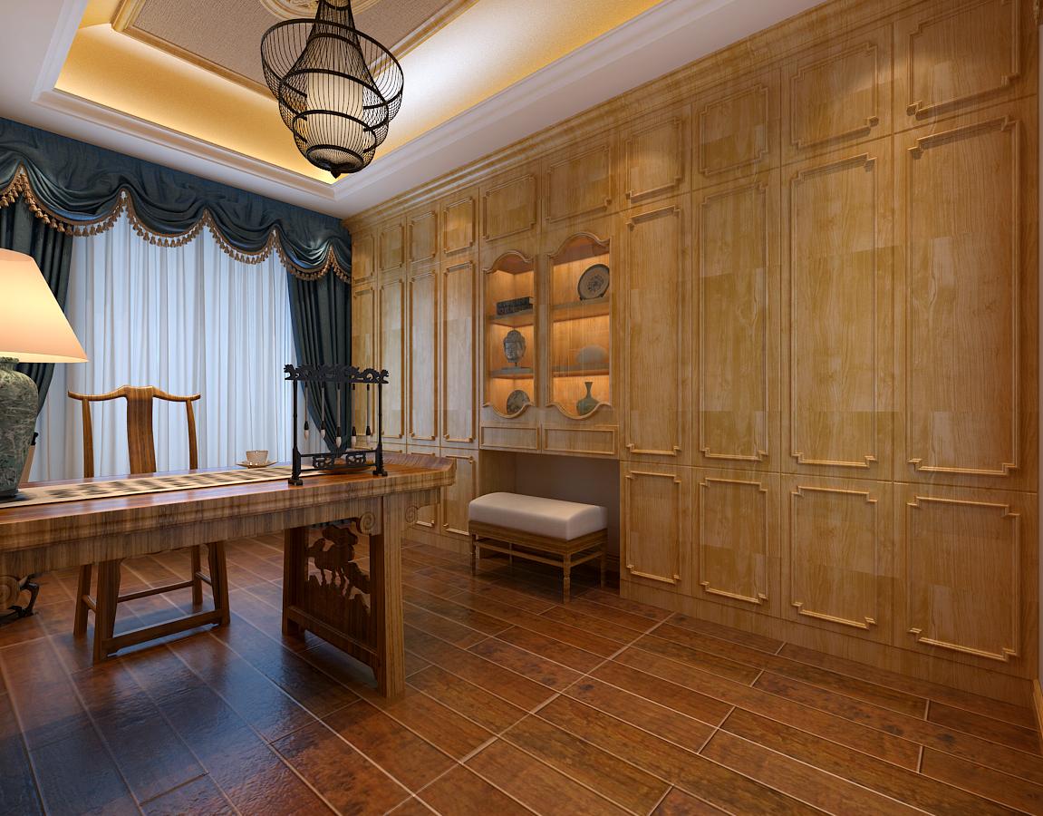 本案的设计要求是新中式风格,针对业主的特点,在风格设计元素上也多用了一些现代设计手法,在整体造型设计上多采用简洁的直线设计,局部造型采用了一些中式设计元素,包括后期的家具选择上也会采用一些中式家具,这样来体现一些怀旧的生活方式;根据业主对色彩的趋向,大部分材质采用了冷色调,局部穿插了暖色调的家具和配饰来体现居室温馨的感觉;整体造型设计简洁而大气,作为别墅设计,我个人认为除了整体的设计主调把握好了之后,在细节的设计上更应体现人性化和生活品质。