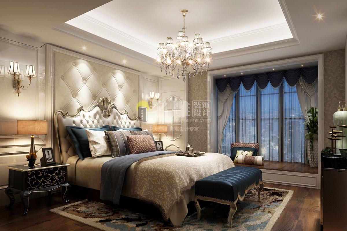 欧式装修风格卧室效果图