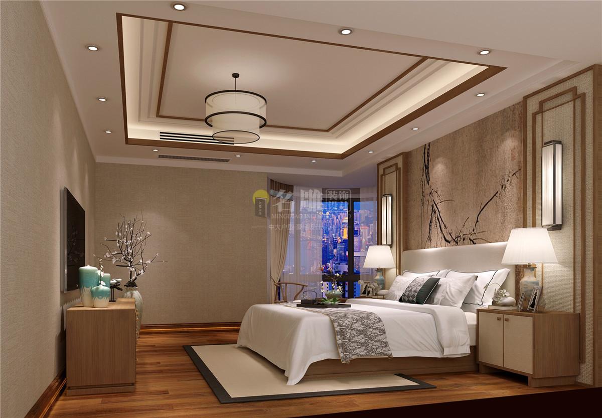 房间则采用一些简洁的手法,时尚精致而又不失中式的韵味。