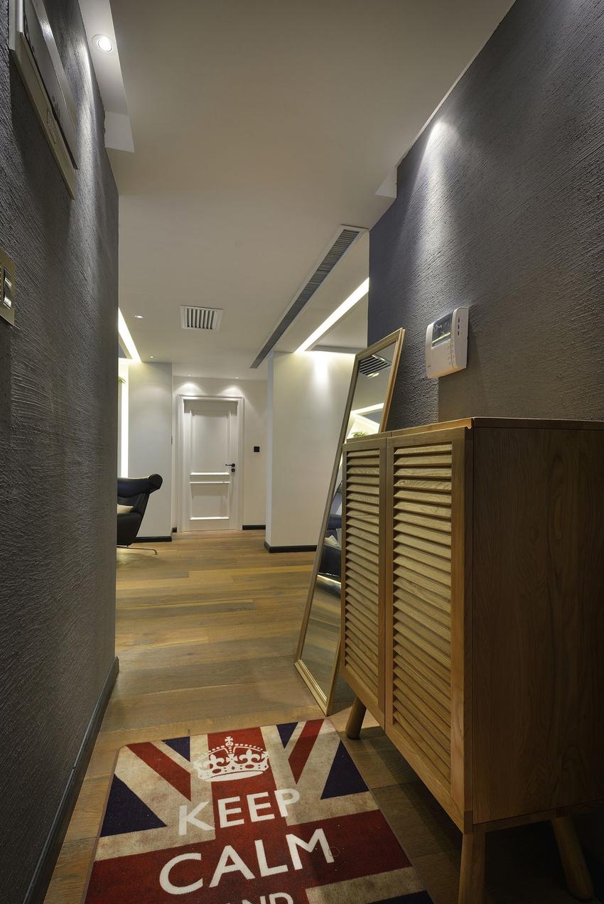 174.91平米三居室装修案例 现代简约半包9万!-国博城装修