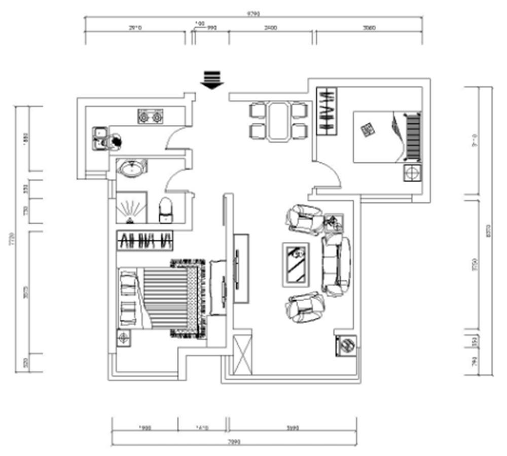 一进入户门左手边是一个餐厅,再里面是一个次卧室,入户门右手边是一个厨房,入户再往前面走右手边是一个卫生间,再前面是一个主卧室,餐厅前面是一个客厅,客厅里面是一个阳台,这个户型餐厅面积偏小,餐厅厨房隔着一个小过道,不是很方便,客厅有一个大窗户 采光问题不大 通风性一般,次卧有一个小窗户,采光通风都还好,主卧有一个大飘窗采光通风不用担心。卫生间窗户很小采光通风都不好。