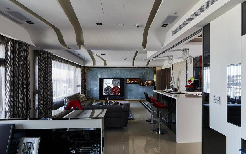 122.19平米三居室如何装修 新古典清包6万!-鲁能城·中央公馆装修